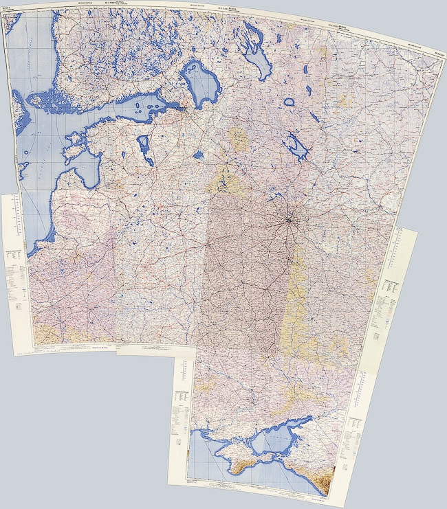 Английская карта Европейской части СССР 1942 года: http://www.etomesto.ru/map-atlas_russia-eng-1942/