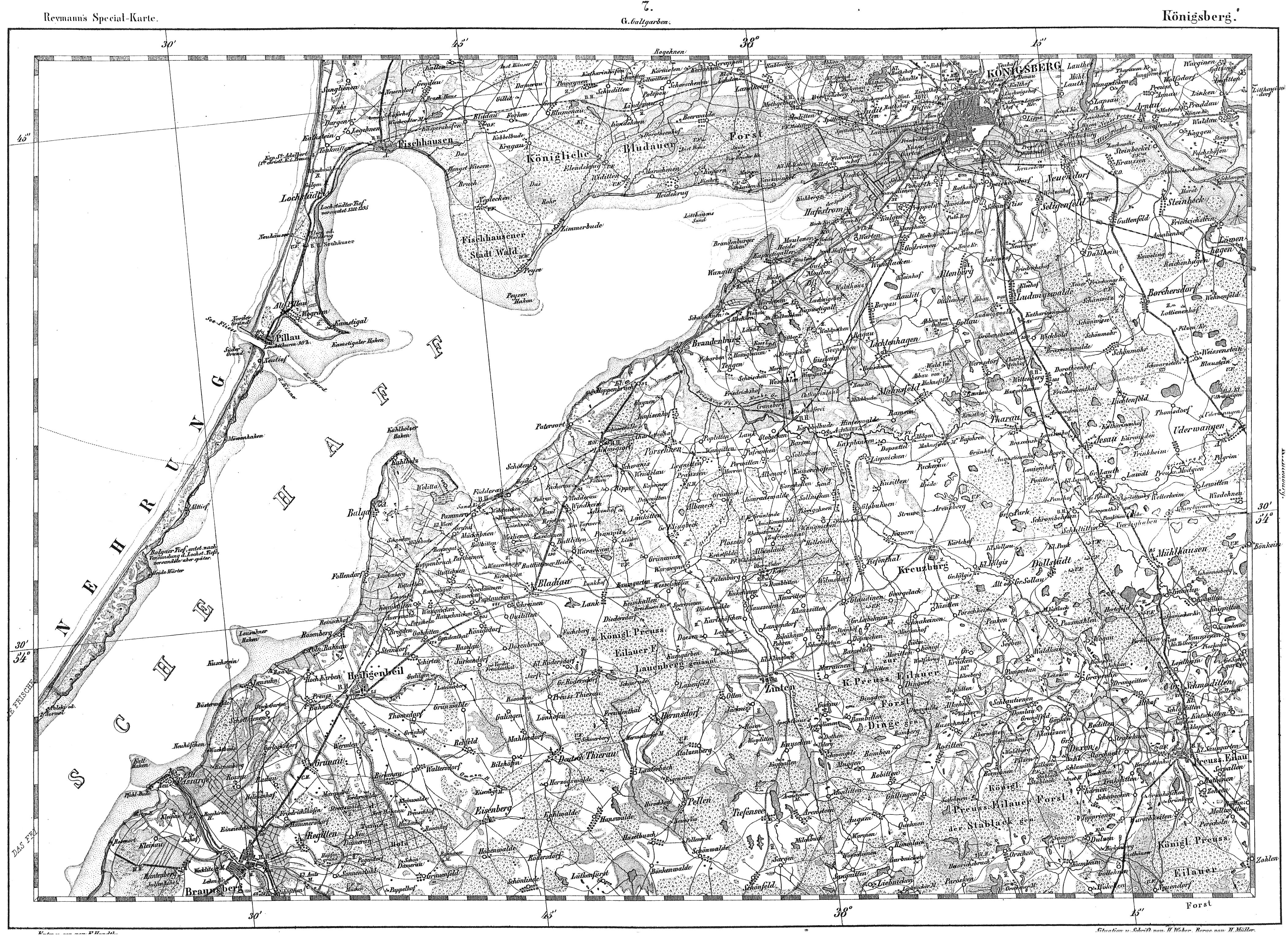 Карта Восточной Пруссии 1806 года скачать: http://www.etomesto.ru/karta694/