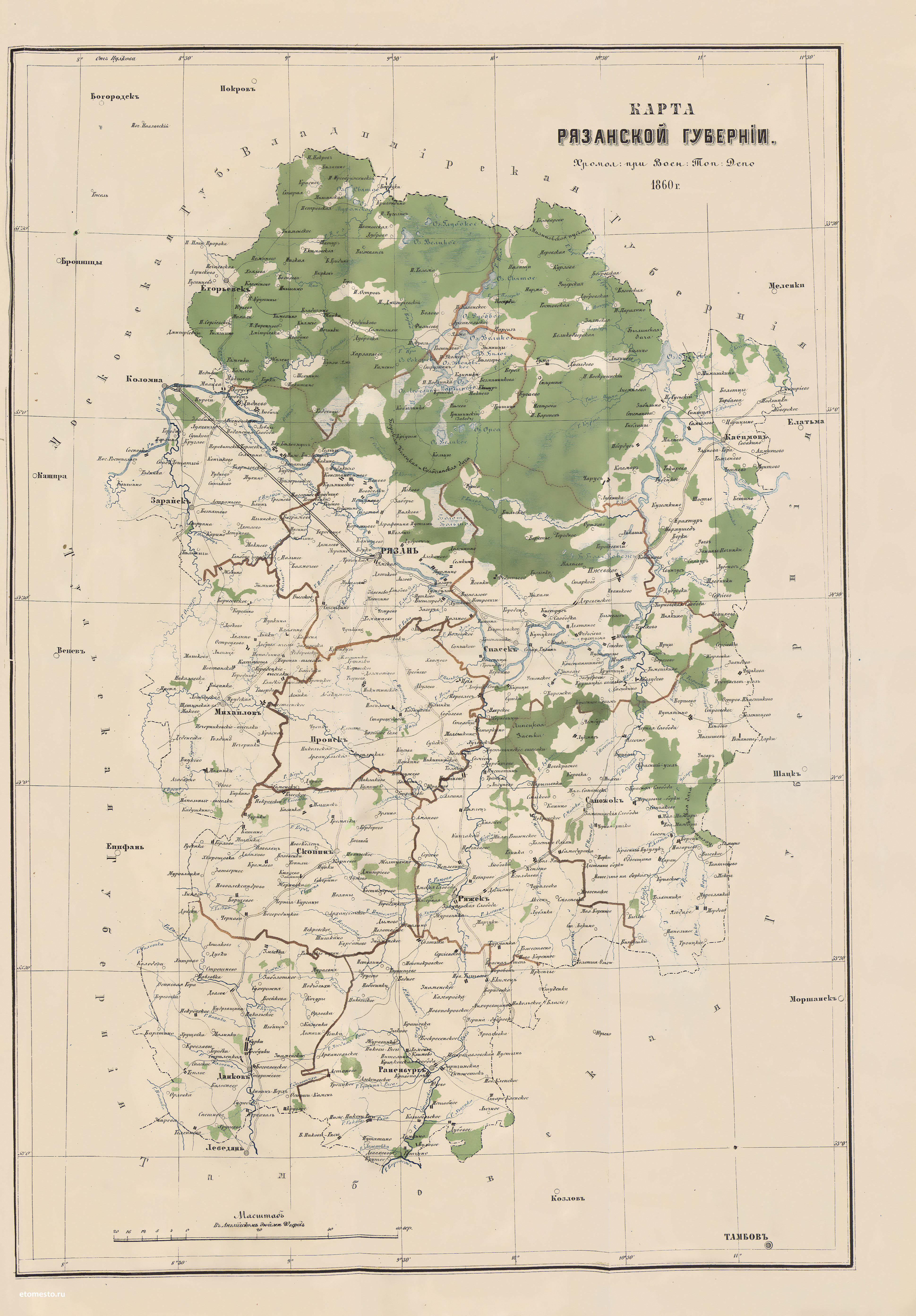 дома стиле карта рязанской губернии 18 века ушла девушка другому